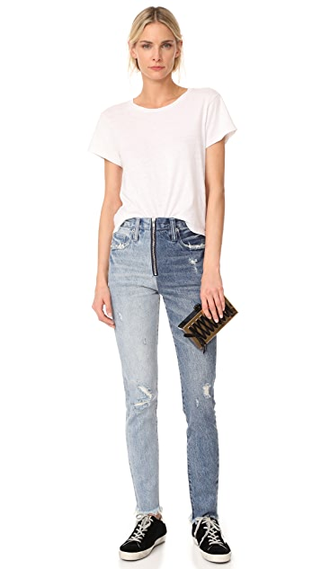 Edie Parker Jean Mirrored Corset Clutch