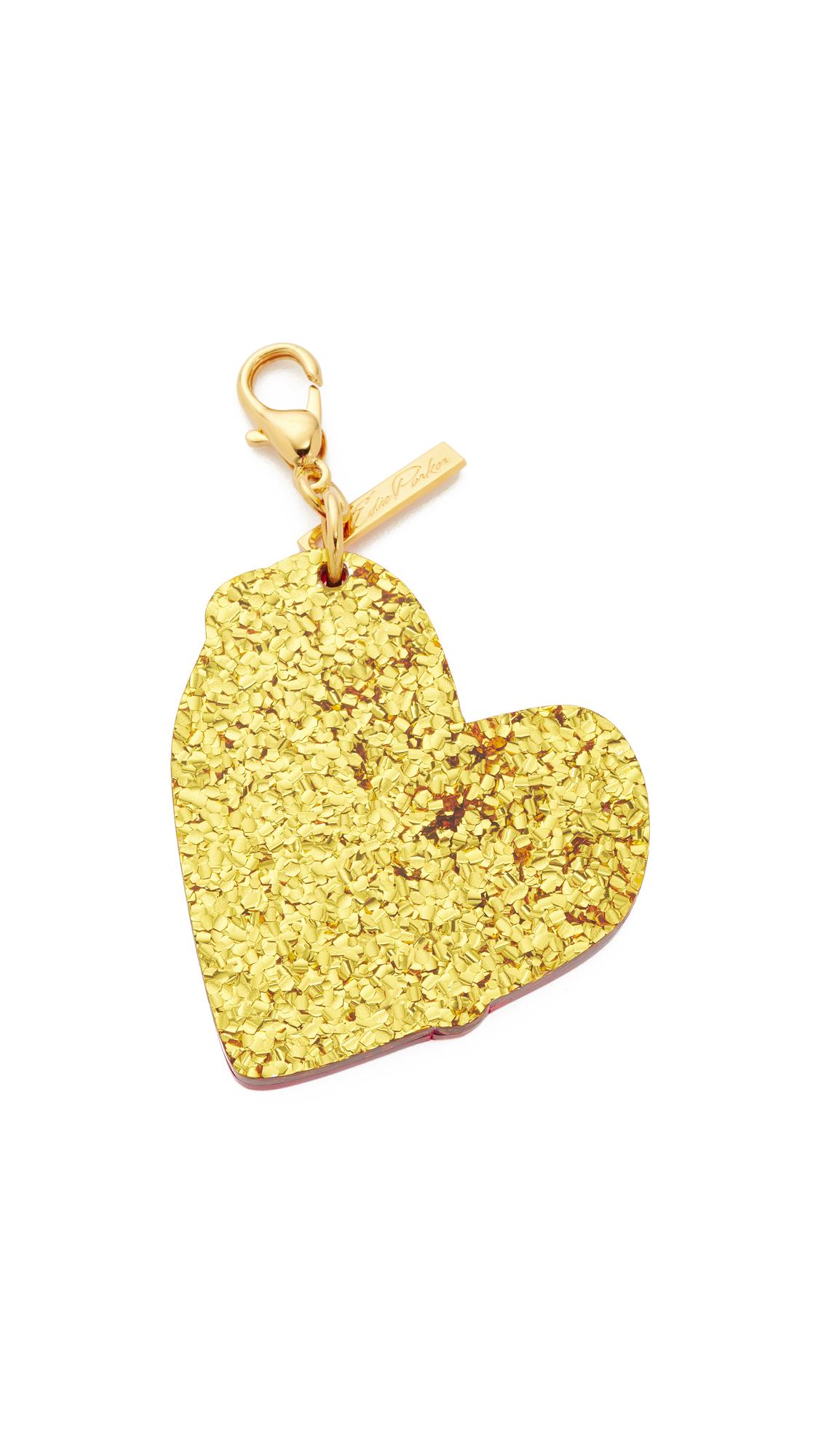 Edie Parker Broken Heart Bag Charm amwOTzruik