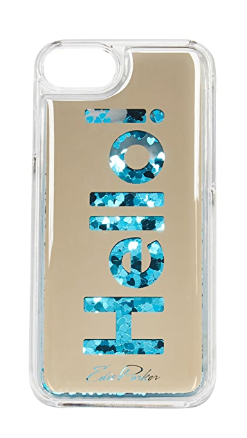 Edie Parker iPhone 6 / 6s / 7 Case Floating Hello