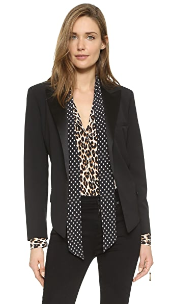 Equipment Kate Moss Wynne Tuxedo Blazer