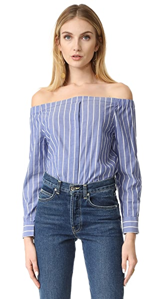 Equipment Gretchen Off Shoulder Top