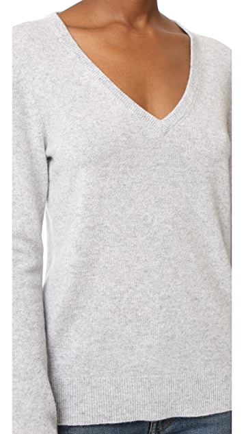 Equipment Cecile V-Neck Sweater