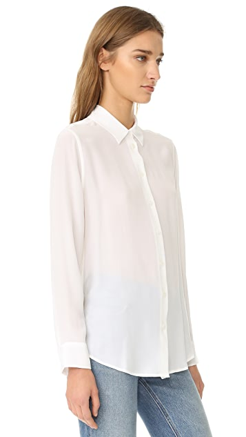 Equipment Essential Button Down Blouse