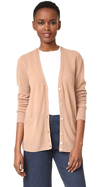 Equipment Sullivan Cashmere Cardigan - Camel