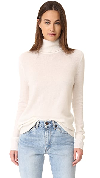 Equipment Oscar Cashmere Turtleneck - Ivory