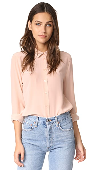 Equipment Essential Blouse - French Nude