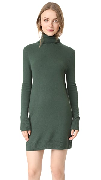 Equipment Oscar Turtleneck Dress - Dark Army
