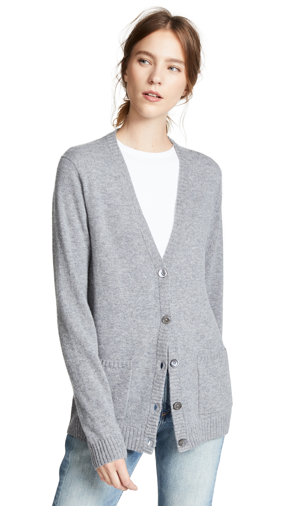 WHITLEY CASHMERE CARDIGAN