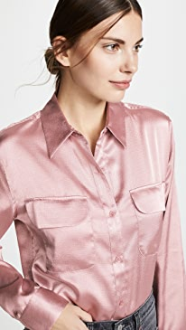 a7af84629b508 Equipment. Signature Button Down Shirt