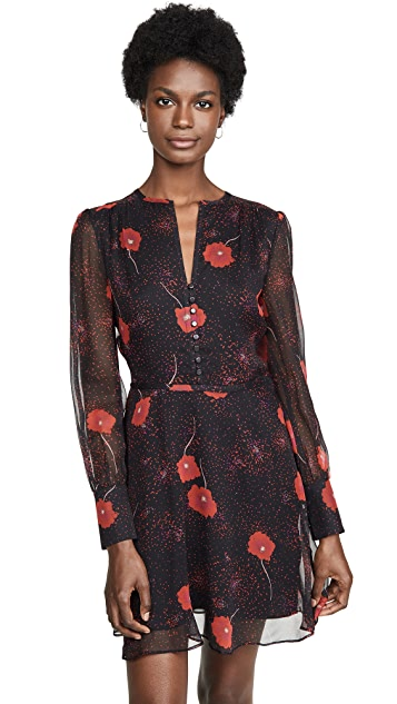 Photo of  Equipment Long Sleeve Danette Dress - shop Equipment dresses online sales
