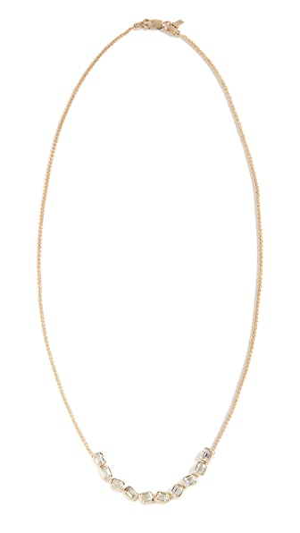 ERA 14K GOLD BRICK BRIGADE STACK NECKLACE