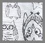 Heather Grey Night Owl