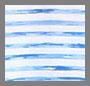 White/Blue Marled Stripe