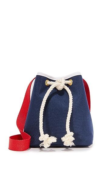 Shaffer Greta Drawstring Bag - Navy