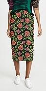 Essentiel Antwerp Troela Long Embo Skirt
