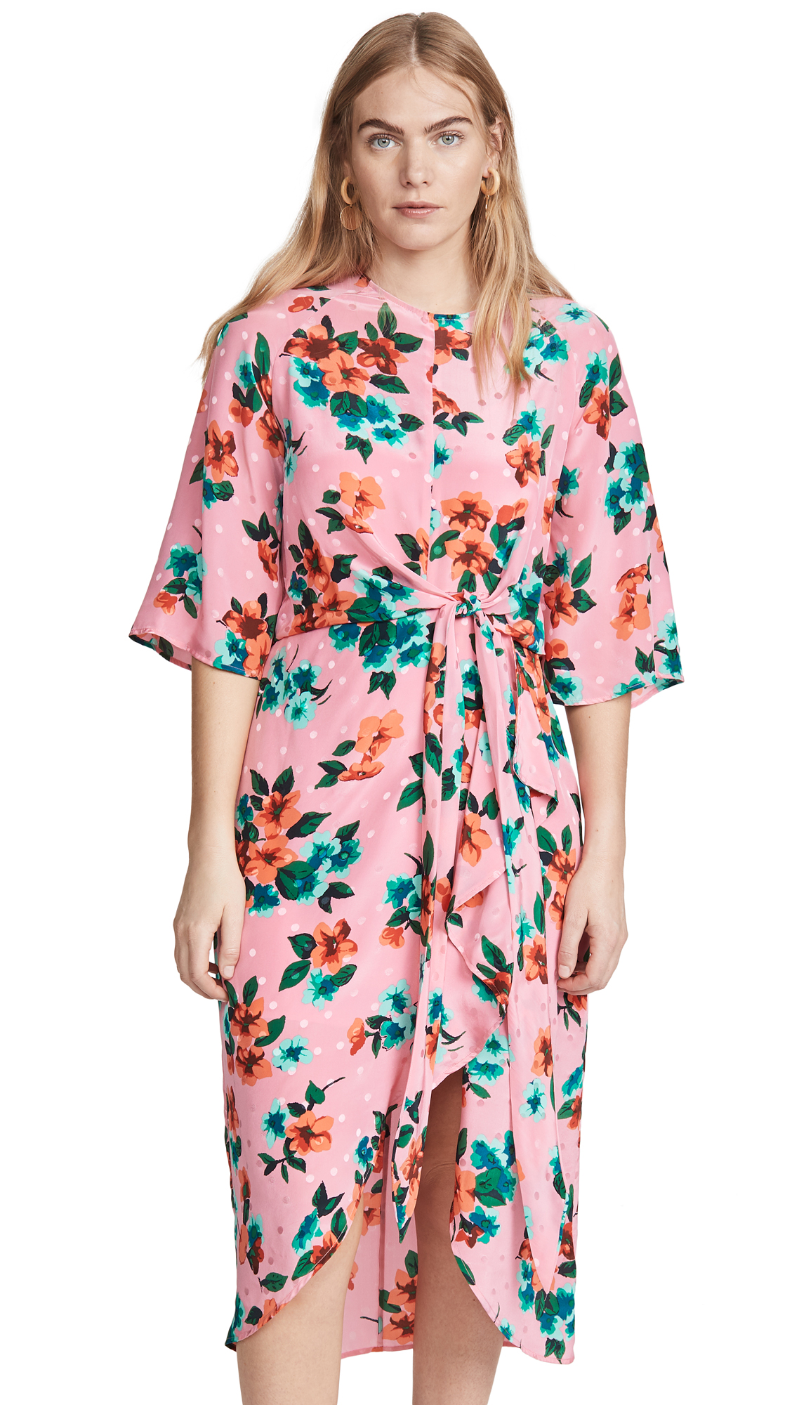 Buy Essentiel Antwerp Vayen Draped Detail Dress online beautiful Essentiel Antwerp Clothing, Dresses