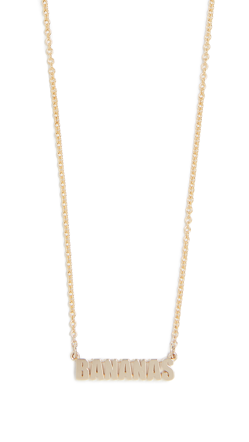 ESTABLISHED 14K Gold Bananas Necklace in Yellow Gold