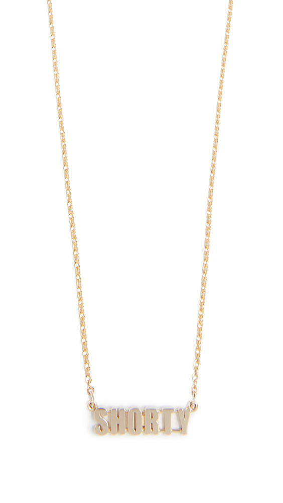 ESTABLISHED 14K Gold Shorty Necklace in Yellow Gold