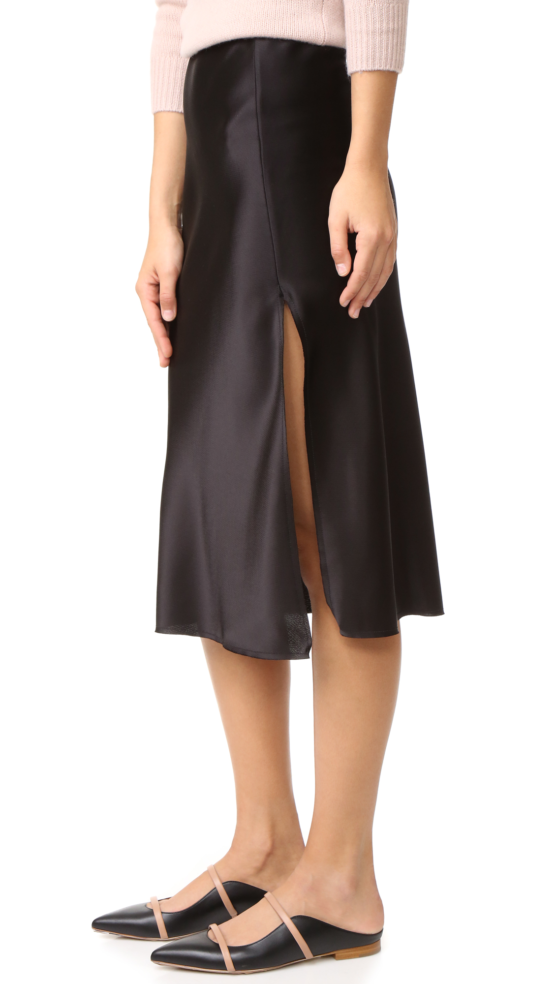 Emerson Thorpe Tori Mid Length Skirt - Black