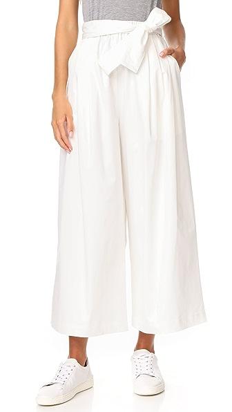 Emerson Thorpe Chino Culottes In White