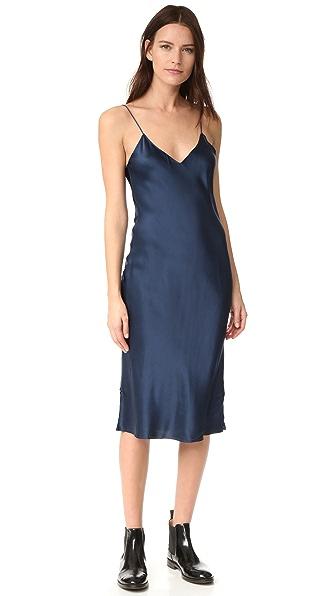 Emerson Thorpe Hallie Slip Dress - Royal Blue