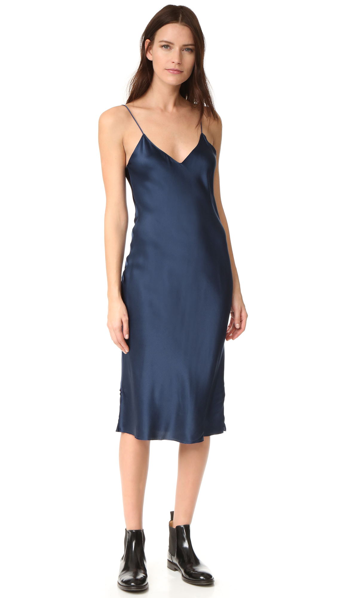 Emerson Thorpe Hallie Slip Dress - Royal Blue