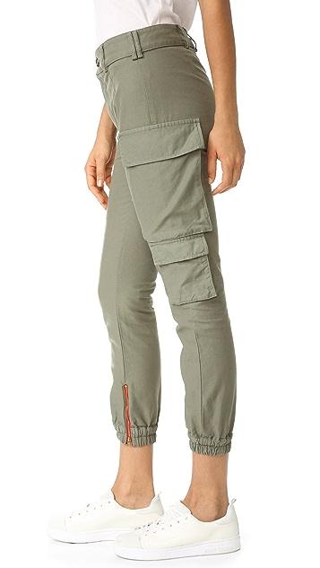Etienne Marcel Cargo Khaki Pants