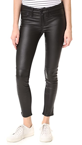 Etienne Marcel Leather Front Pants