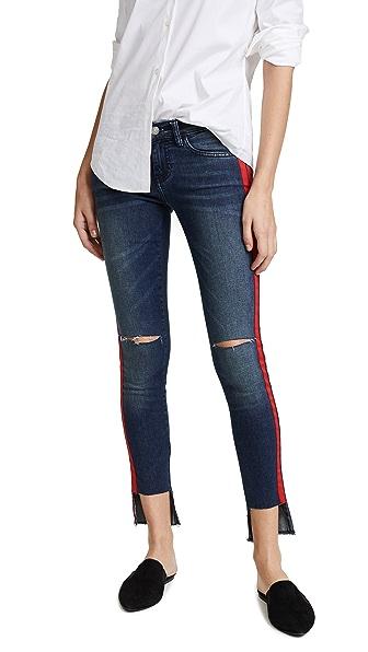 Etienne Marcel Taylor Jeans In Blue Multi