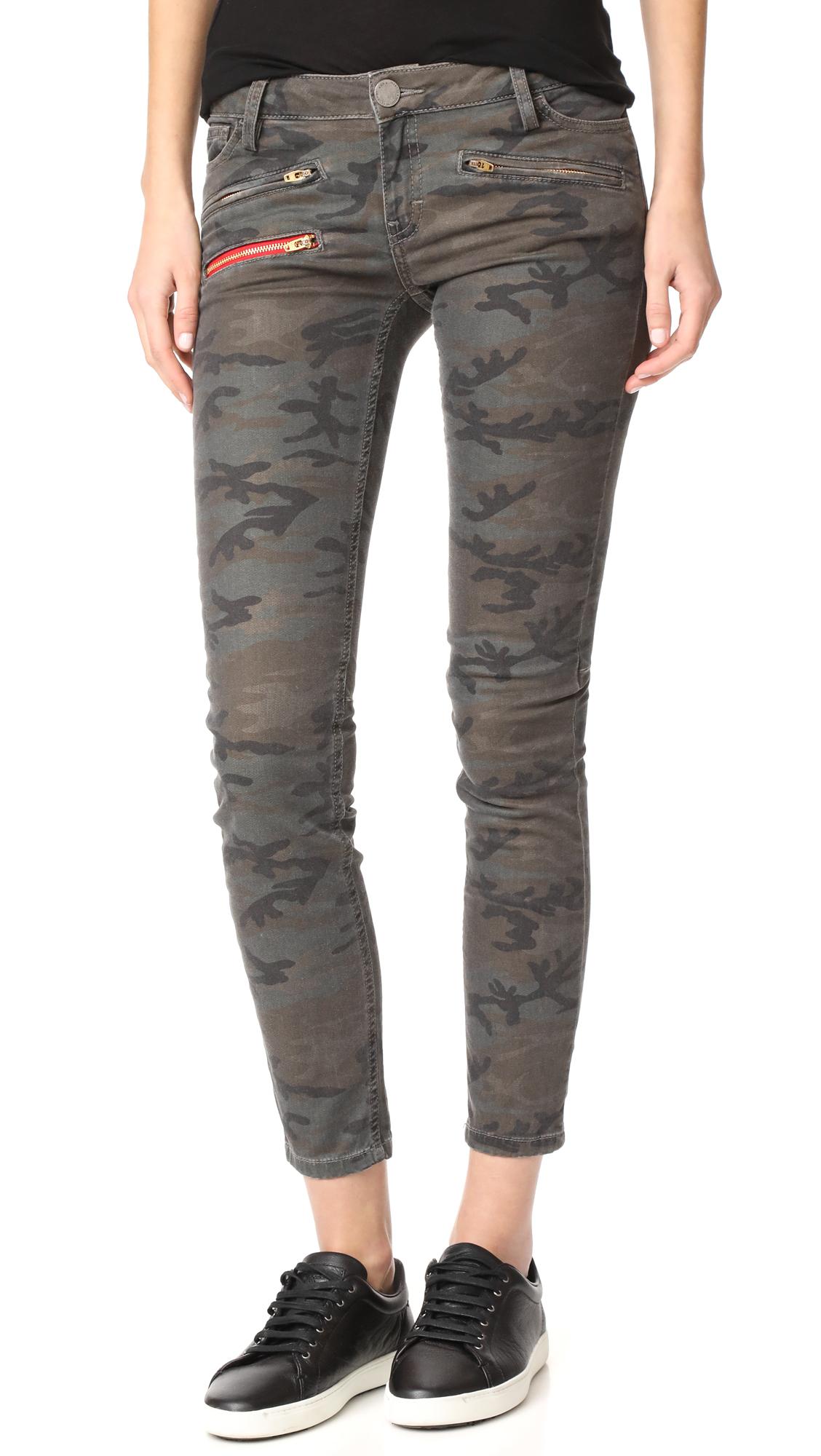 Etienne Marcel Camo Skinny Jeans