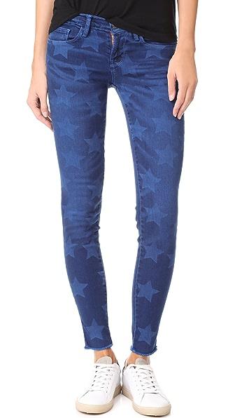 Roos Star Print Skinny Jeans