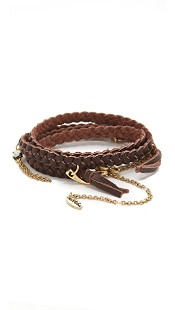 Ettika Buffalo Stance Wrap Bracelet
