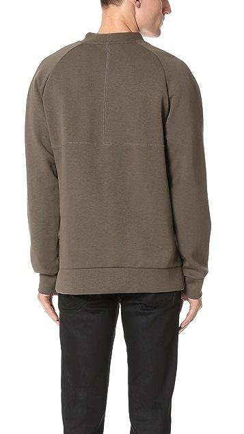 Etudes Track Neoprene Sweatshirt