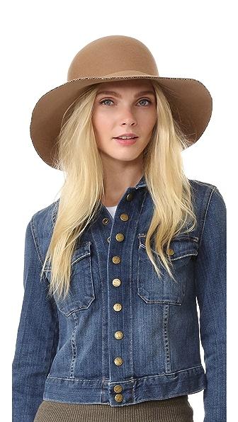 Eugenia Kim Blake Hat - Camel at Shopbop
