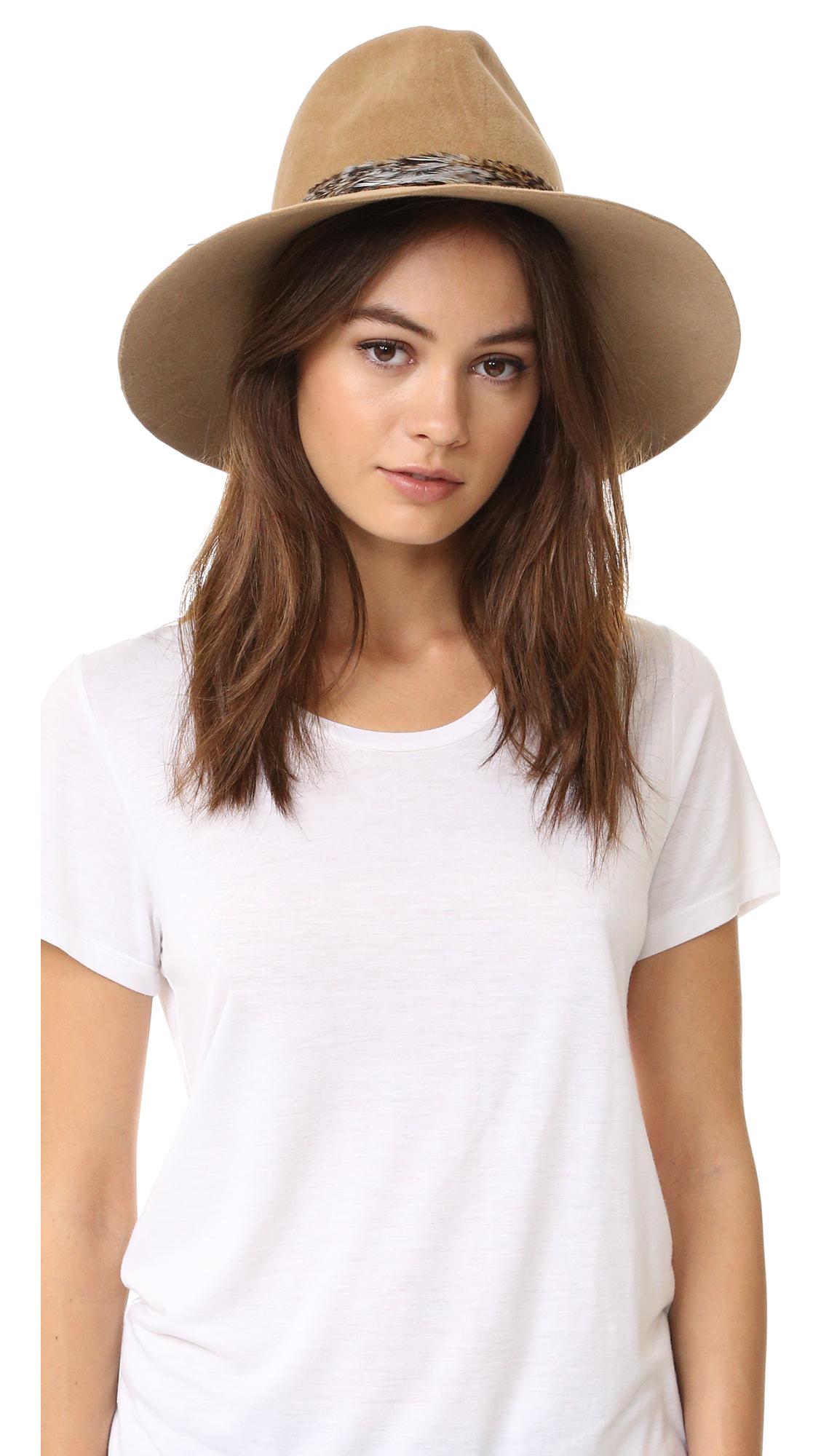 Eugenia Kim Farrah Hat - Camel at Shopbop
