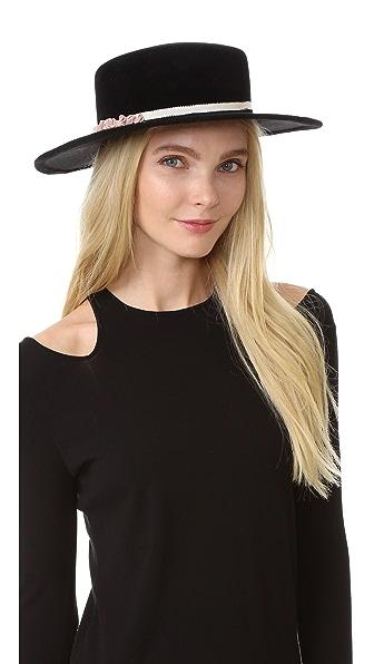 Eugenia Kim Brigette Hat - Black at Shopbop