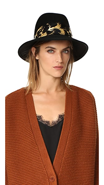 Eugenia Kim Bianca Brim Hat - Black at Shopbop