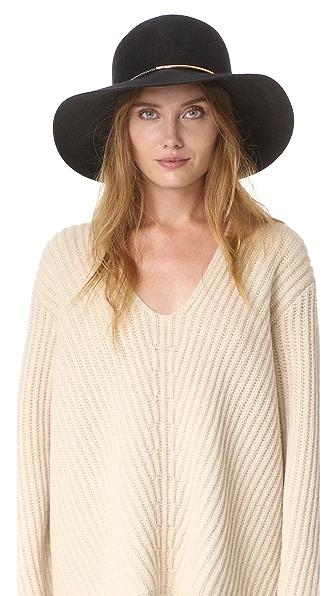Eugenia Kim Blake Brim Hat - Black at Shopbop