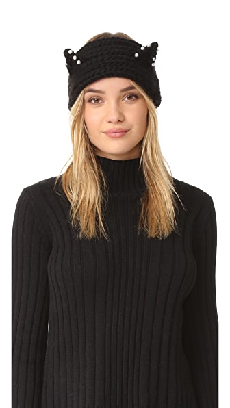 Eugenia Kim Kat Headband - Black at Shopbop