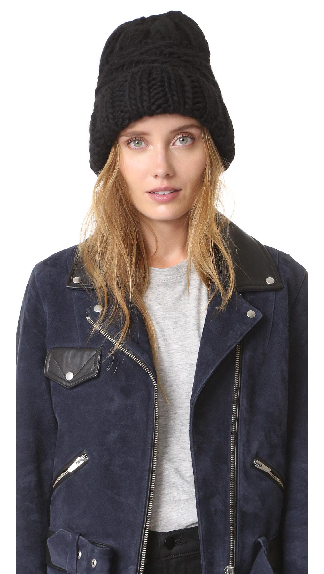 Eugenia Kim Marley Hat - Black at Shopbop