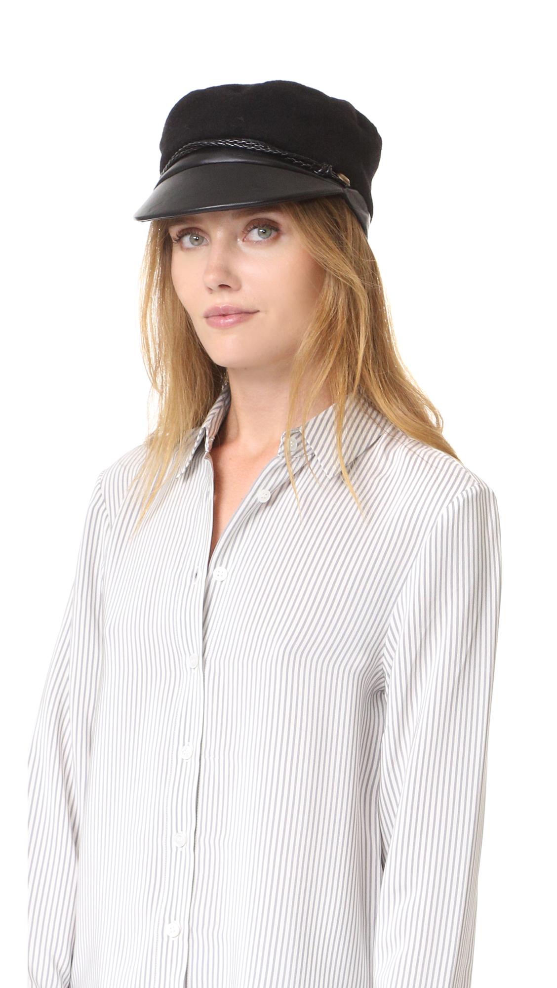 Eugenia Kim Elyse Hat - Black at Shopbop