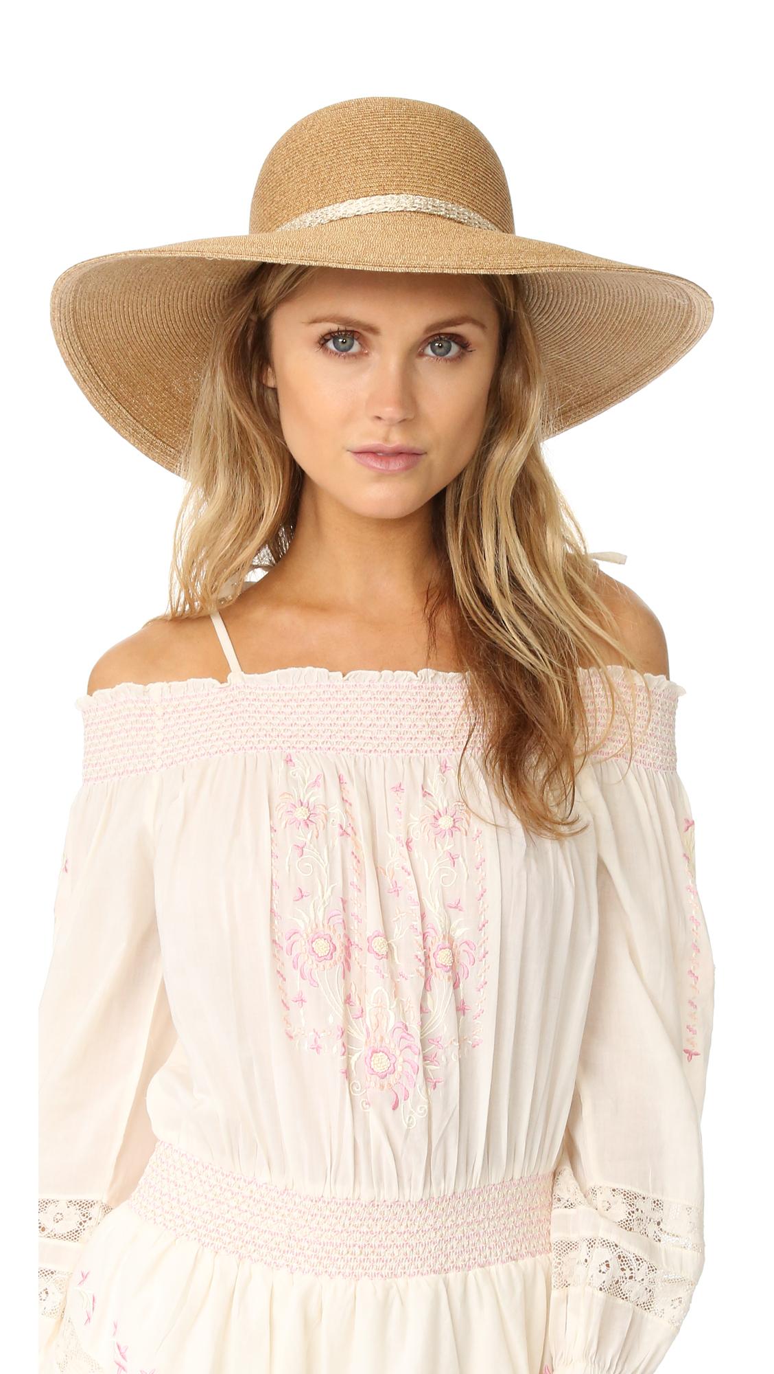 Eugenia Kim Honey Hat - Camel at Shopbop