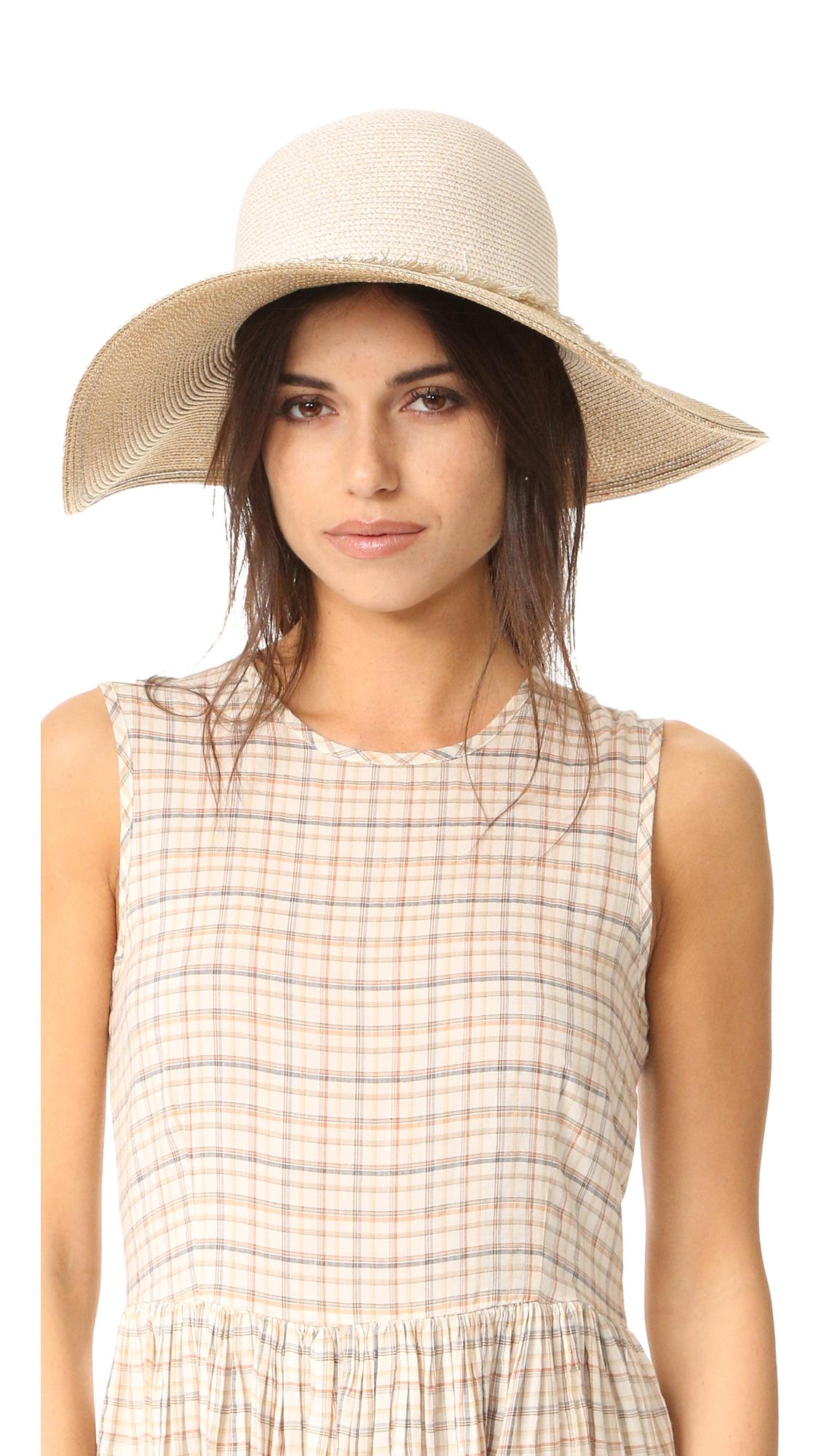 Eugenia Kim Honey Hat - Bone/Sand at Shopbop