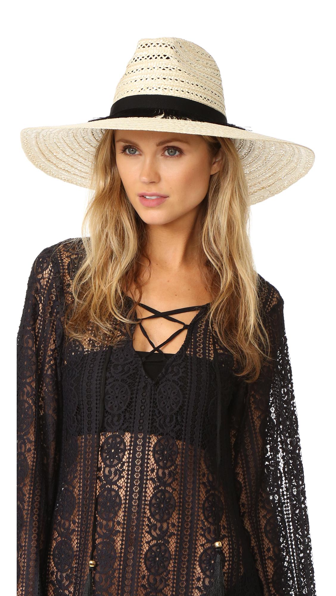 Eugenia Kim Carmen Hat - Ivory at Shopbop