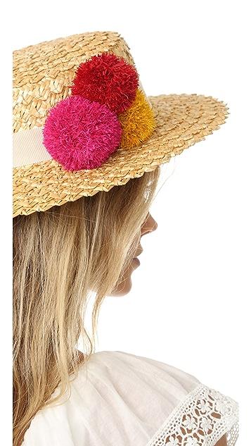 Eugenia Kim Brigitte Flat Top Hat