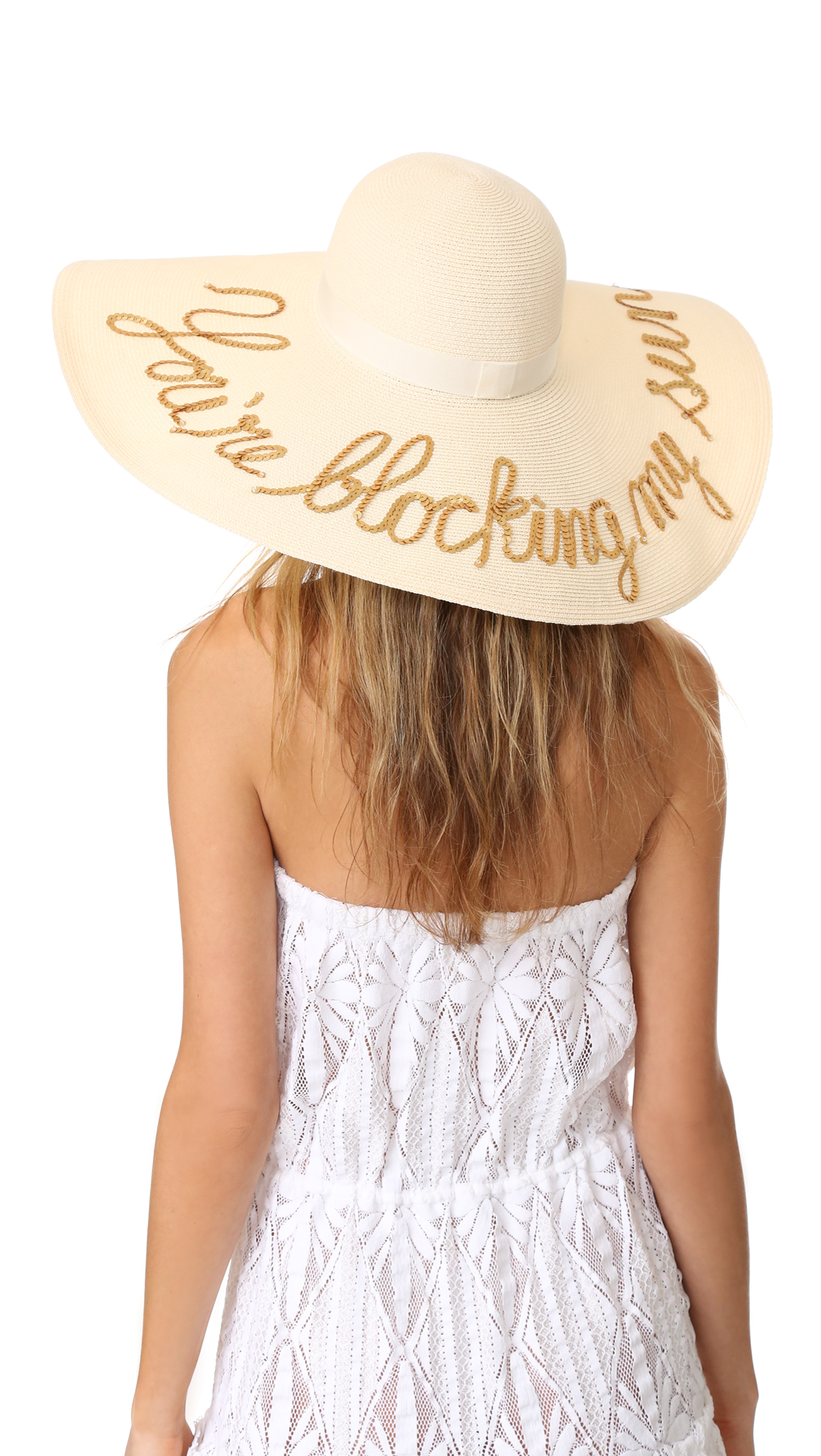 Eugenia Kim Sunny Youre Blocking My Sun Hat - Ivory