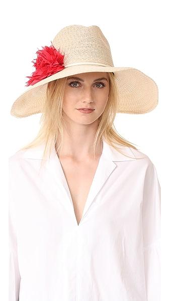 Eugenia Kim Carmen Hat - Ivory/ Natural