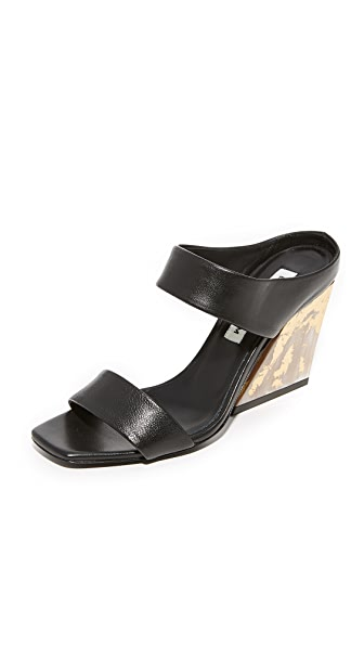 Eugenia Kim Nadine Slide Sandals - Black
