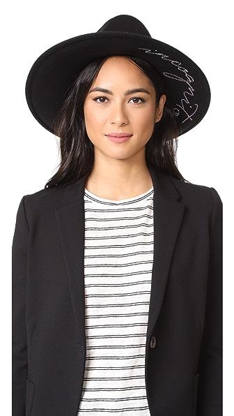 Eugenia Kim Dita Incognito Hat - Black