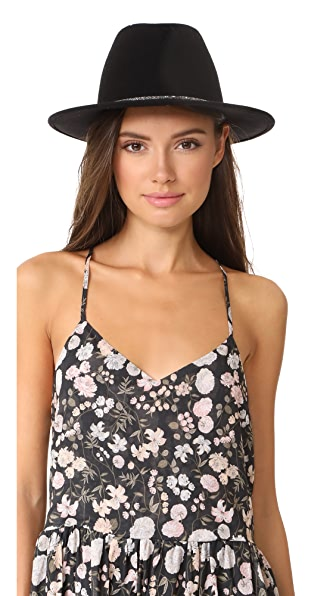 Eugenia Kim Blaine Hat In Black